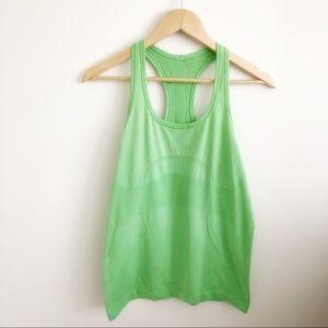 Lululemon Swiftly Green Racerback